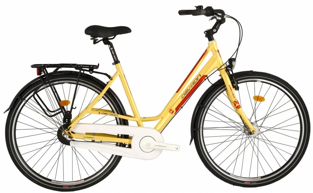 Bicicleta oras Devron Urbio Lc1.8 M Antique Brass 28 inch imagine
