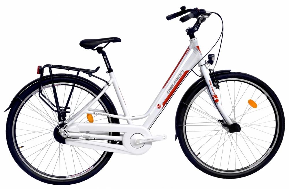 Bicicleta oras Devron Urbio Lc1.8 M Crimson White 28 inch