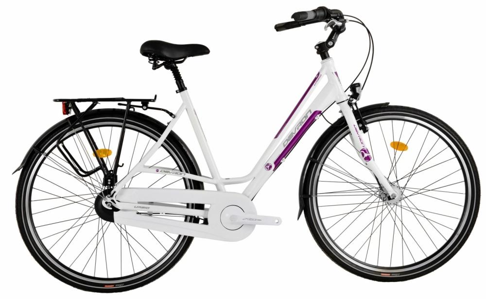 Bicicleta oras Devron Urbio Lc2.8 L Ivory White 28 inch