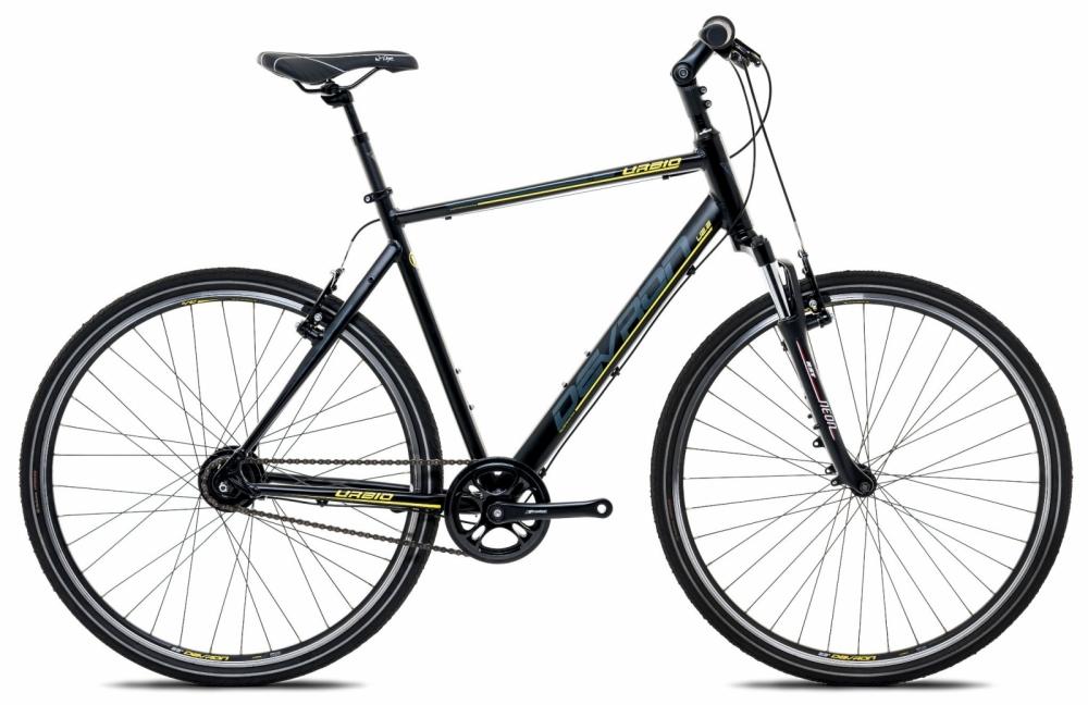 Bicicleta oras Devron Urbio U2.8 M 533 mm Fiere black 28 inch