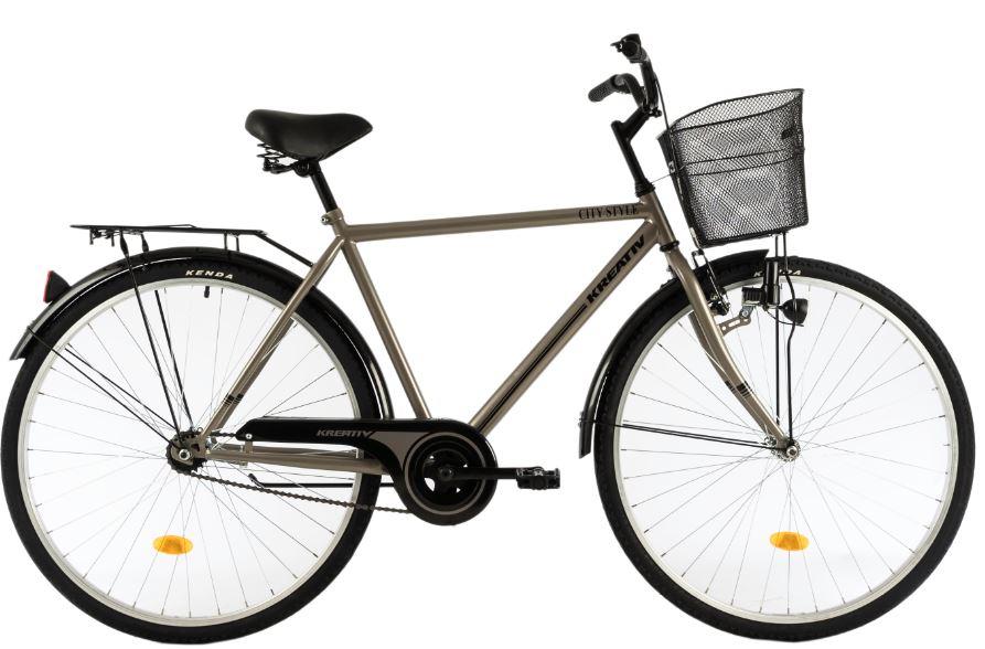 Bicicleta oras Dhs 2811 L gri 28 inch