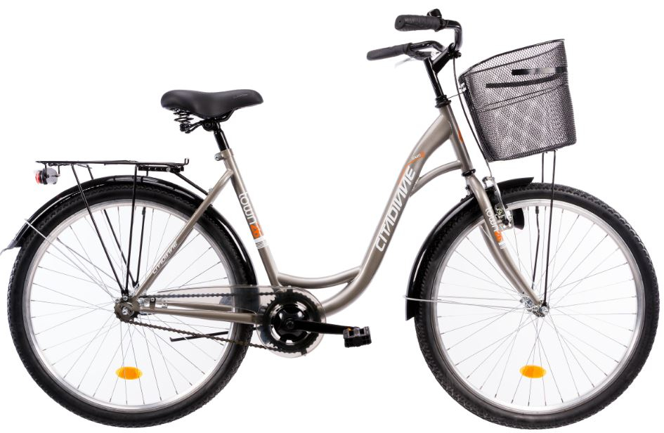 Bicicleta oras Dhs Citadinne 2630 gri M 26 inch