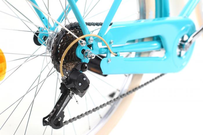 Bicicleta oras Dhs Citadinne 2634 M verde light 26 inch imagine