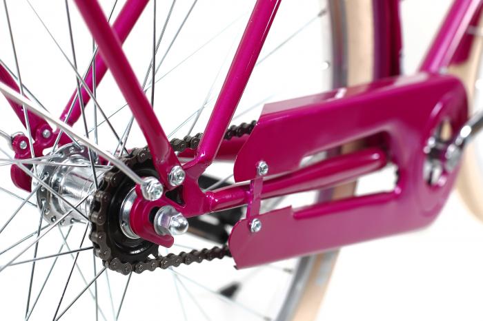 Bicicleta oras Dhs Citadinne 2832 L roz 28 inch imagine