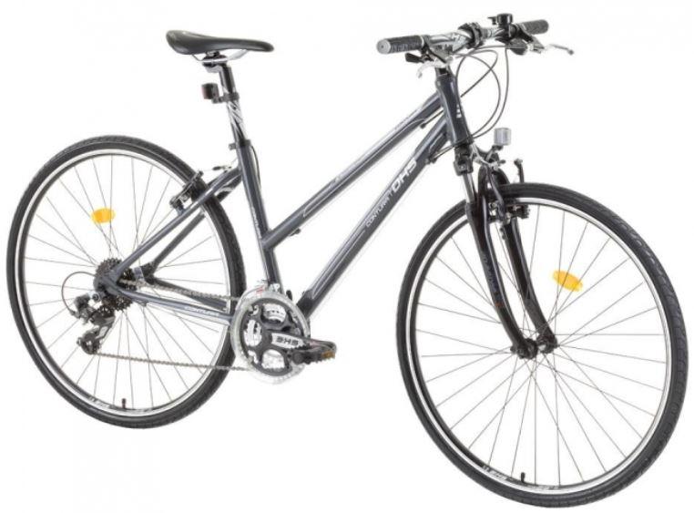 Bicicleta oras Dhs Contura 2866 M 440 mm gri 28 inch imagine