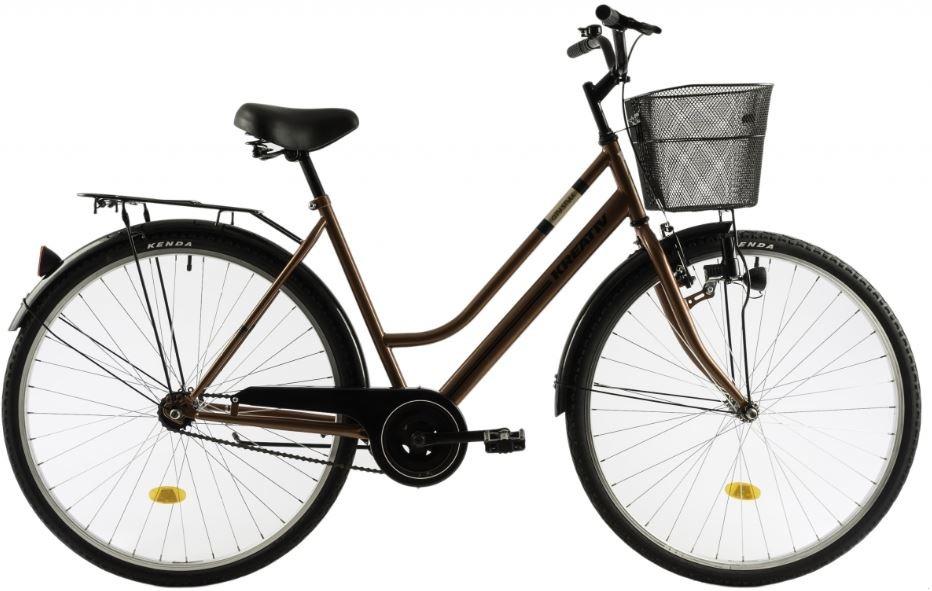 Bicicleta oras Dhs Kreativ 2812 520 mm maro 28 inch