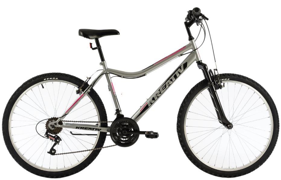 Bicicleta oras Kreativ 2604 M gri deschis 26 inch