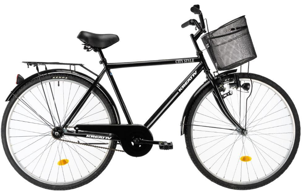 Bicicleta oras Kreativ 2811 L negru 28 inch - 2