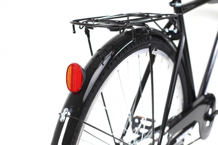Bicicleta oras Kreativ 2811 L negru 28 inch