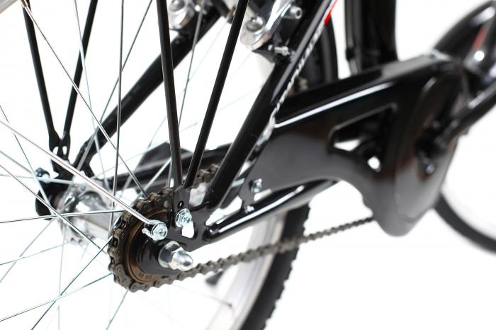 Bicicleta pliabila Dhs 2092 negru 20 inch