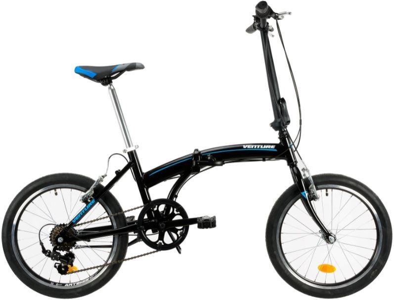 Bicicleta pliabila Venture 2091 negru 20 inch