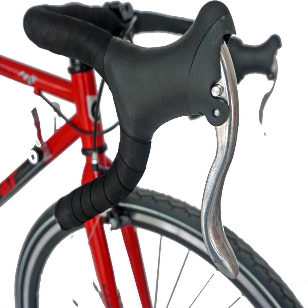 Bicicleta Road Carpat Mustang C2871A cadru otel 18 viteze culoare rosunegru