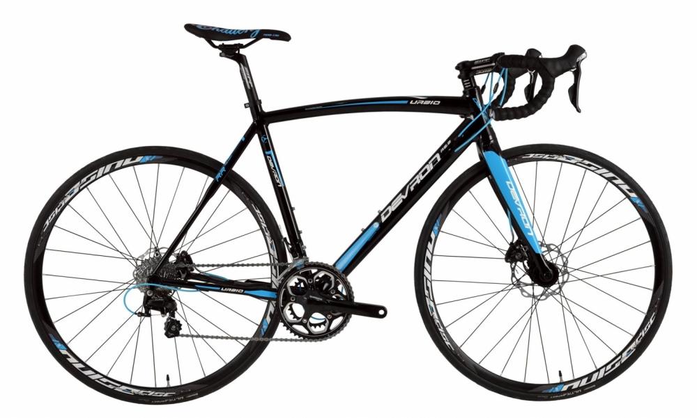 Bicicleta sosea Devron Urbio R6.8 L Pure black 28 inch