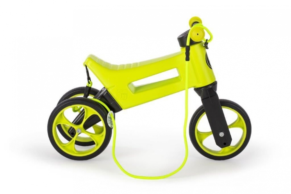 Bicicleta fara pedale 2 in 1 Funny Wheels Supersport Lime