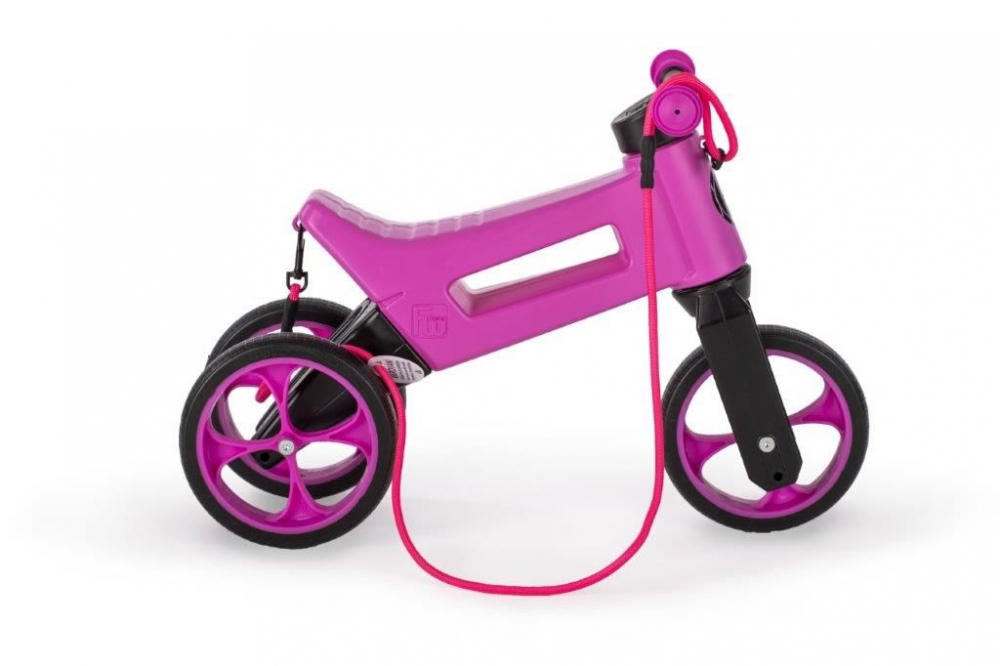 Bicicleta fara pedale 2 in 1 Funny Wheels Supersport Violet