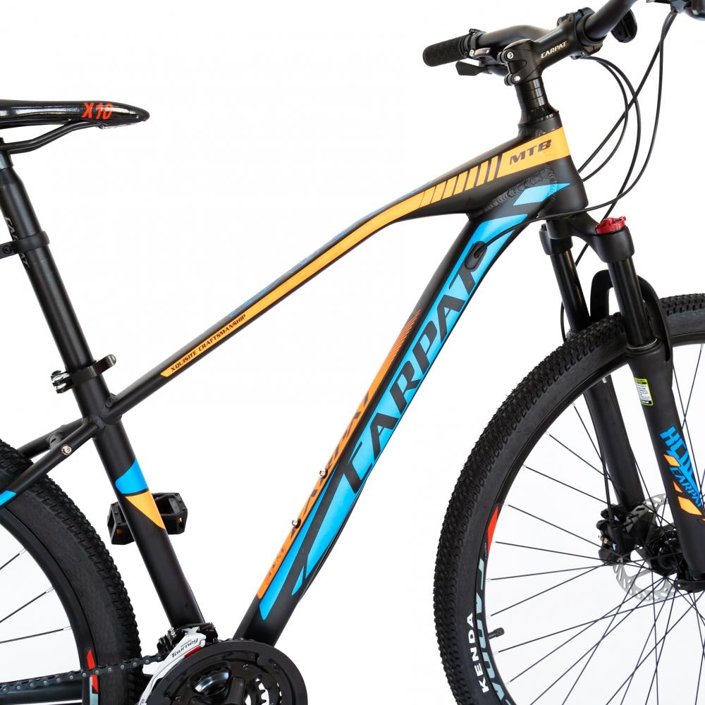 Bicicleta hidraulica Mtb-Ht Carpat C2989H 29 frane hidraulice Xpark 24 viteze negrualbastru