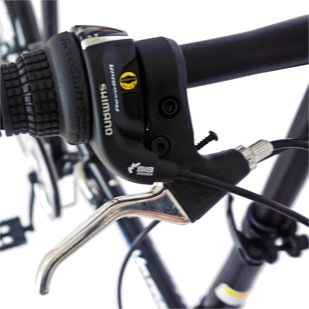 Bicicleta pliabila 20 Velors Advantage V2054B cadru otel culoare negrualbastru