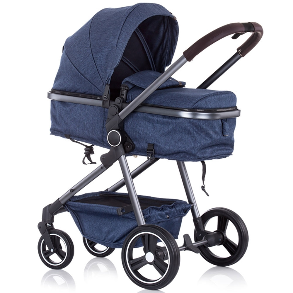 Carucior Chipolino Noah blue denim imagine
