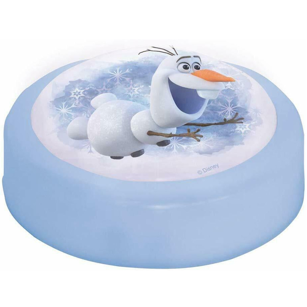 Cort pentru pat copii John Frozen 2 cu lampa imagine