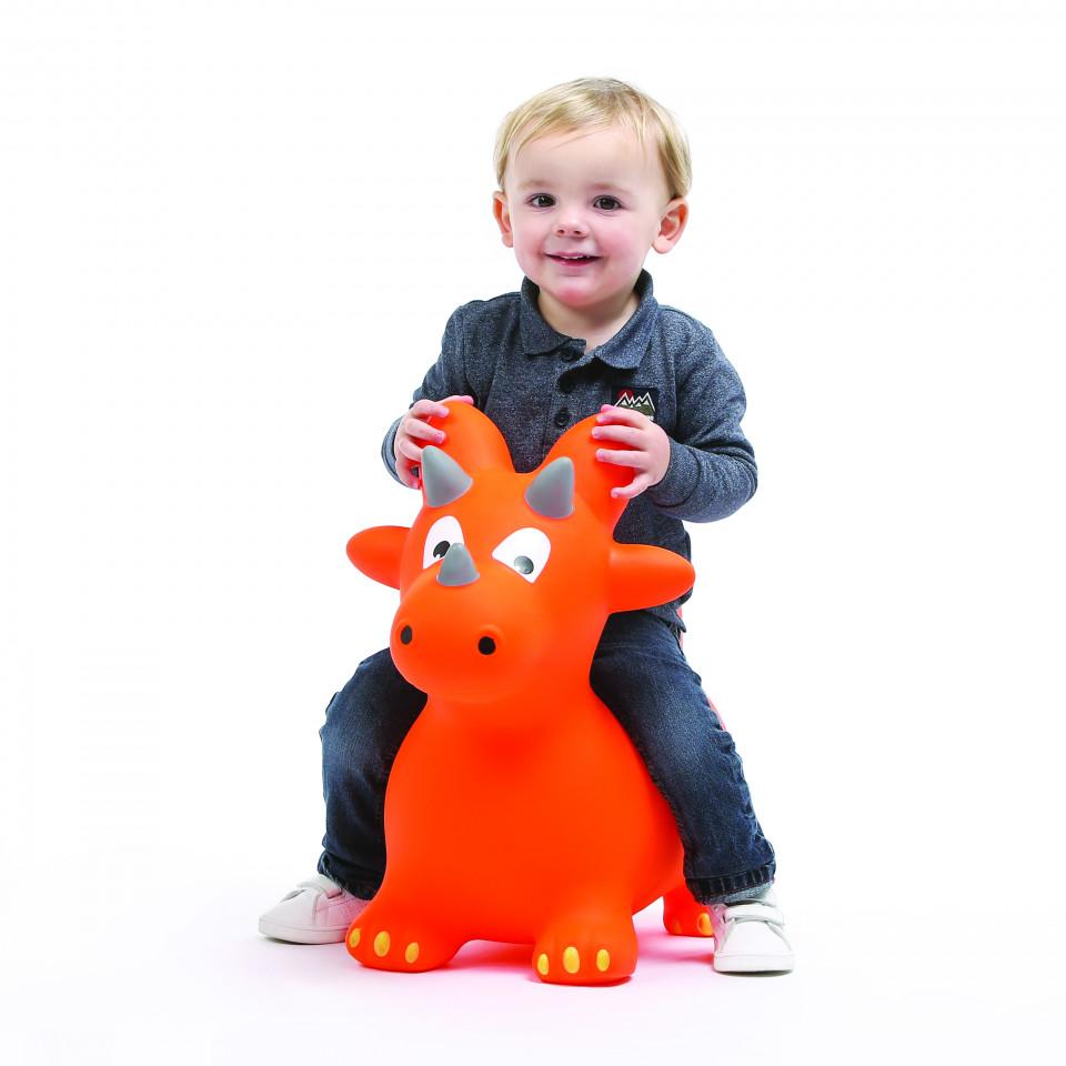 Jucarie gonflabila pentru copii Ludi Dinozaur saltaret imagine