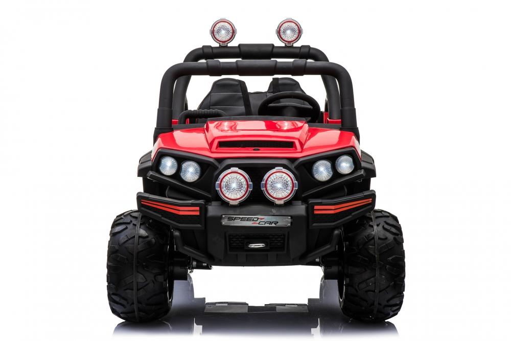 Masinuta electrica 12V cu 2 locuri Nichiduta Speed Car UTV 4x4 Red