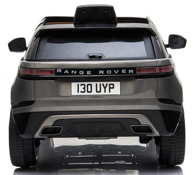 Masinuta electrica Range Rover Velar cu scaun de piele Grey - 1