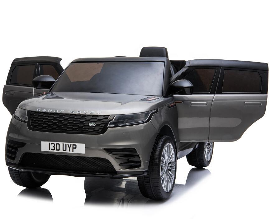 Masinuta electrica Range Rover Velar cu scaun de piele Grey - 2