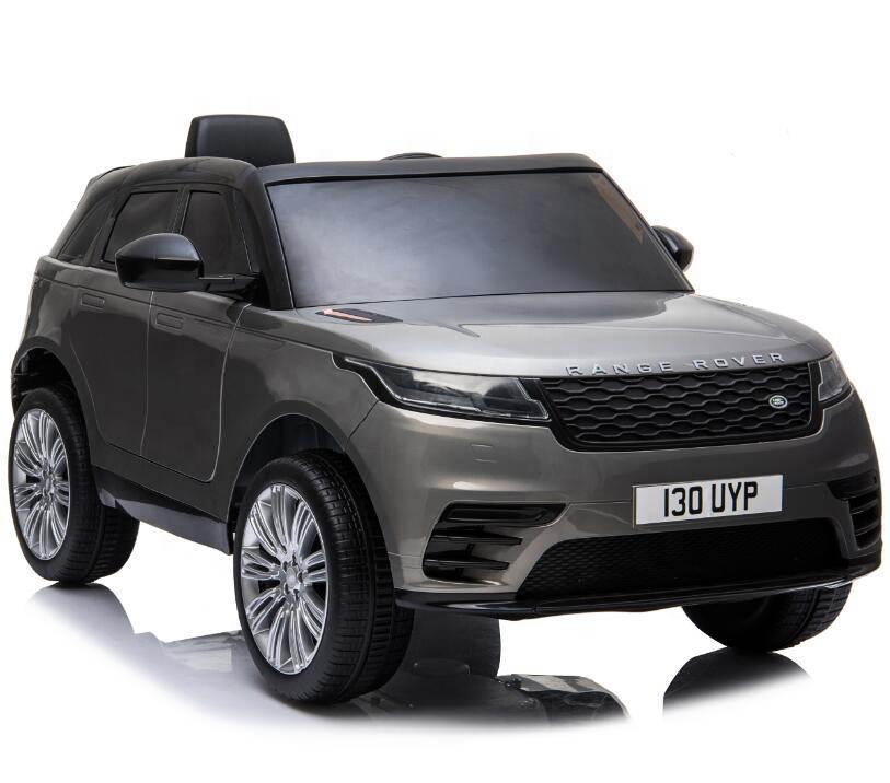 Masinuta electrica Range Rover Velar cu scaun de piele Grey - 3