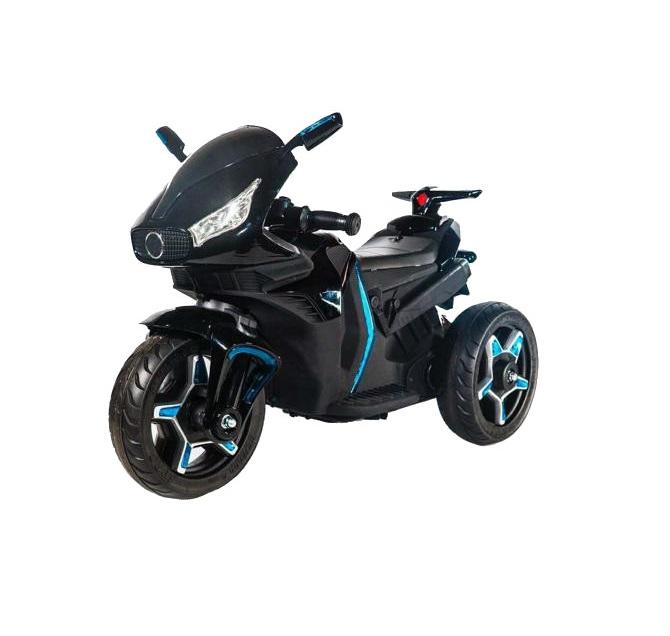 Motocicleta electrica cu roti EVA Shadow Leather Black imagine