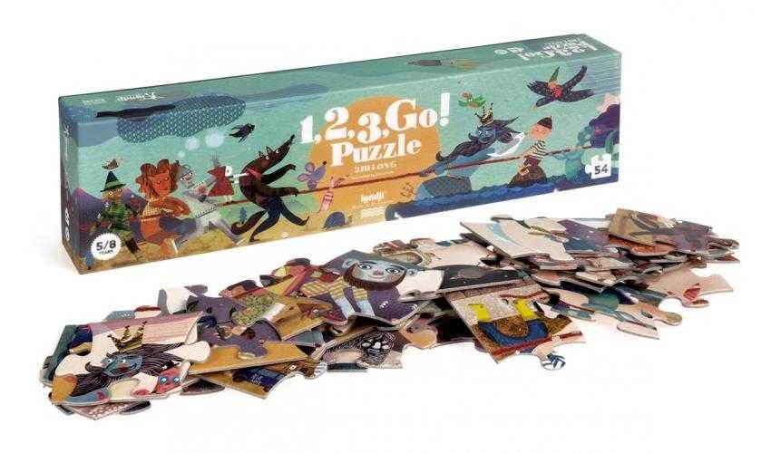 Puzzle 1,2,3 start Londji