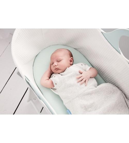 Sac de dormit cu sistem de infasat Grey Marl confortabil 0-3 luni Gro
