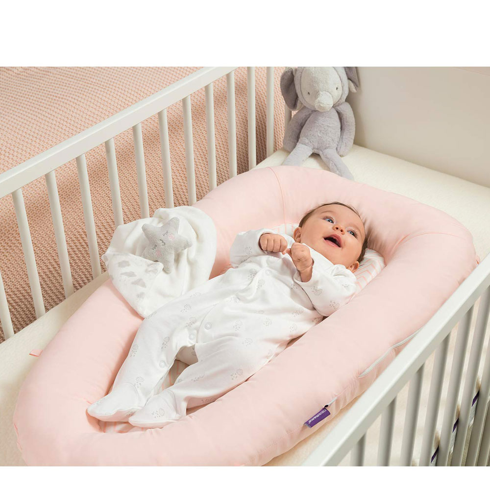 Pozitionator Clevamama Pink pentru bebelusi 3209