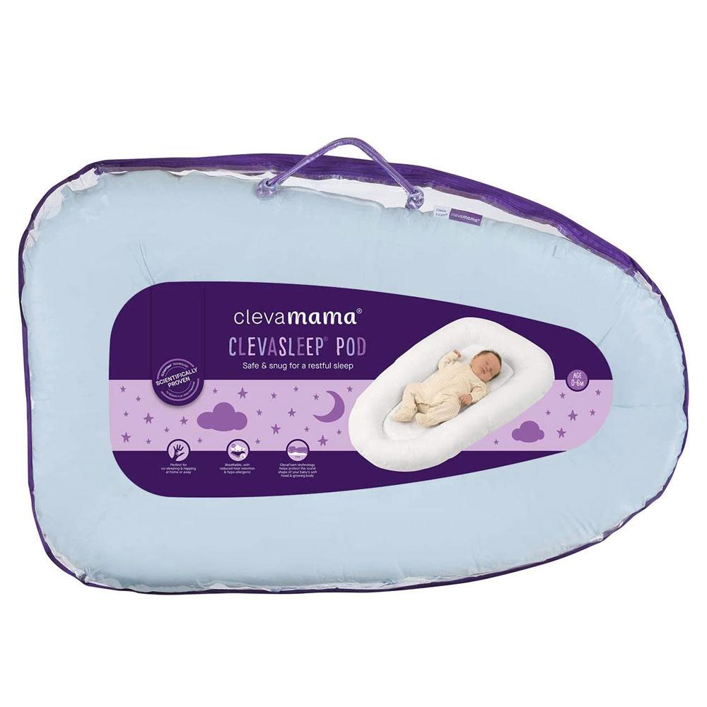 Pozitionator Clevamama Blue pentru bebelusi 3210