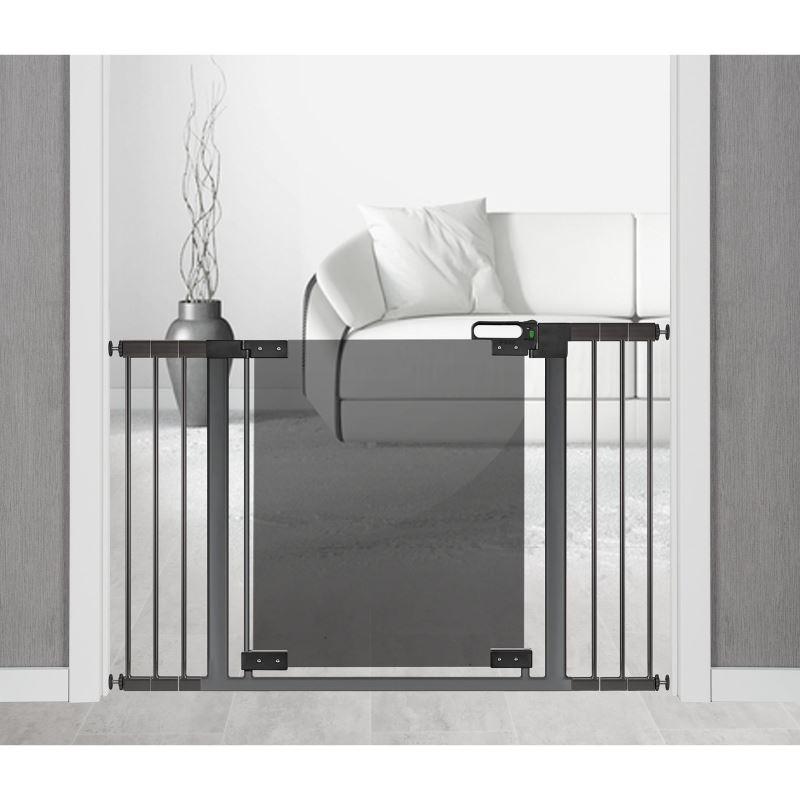 Set 2 extensii 7 cm pentru porti de siguranta DesignLine Puristic metal gri antracit Reer 46041