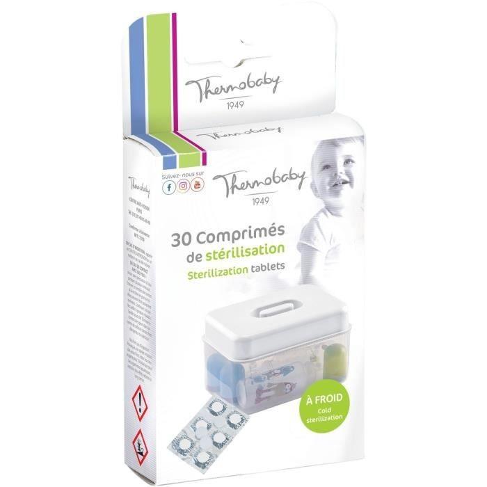 Set 30 tablete pentru sterilizare la rece Thermobaby imagine