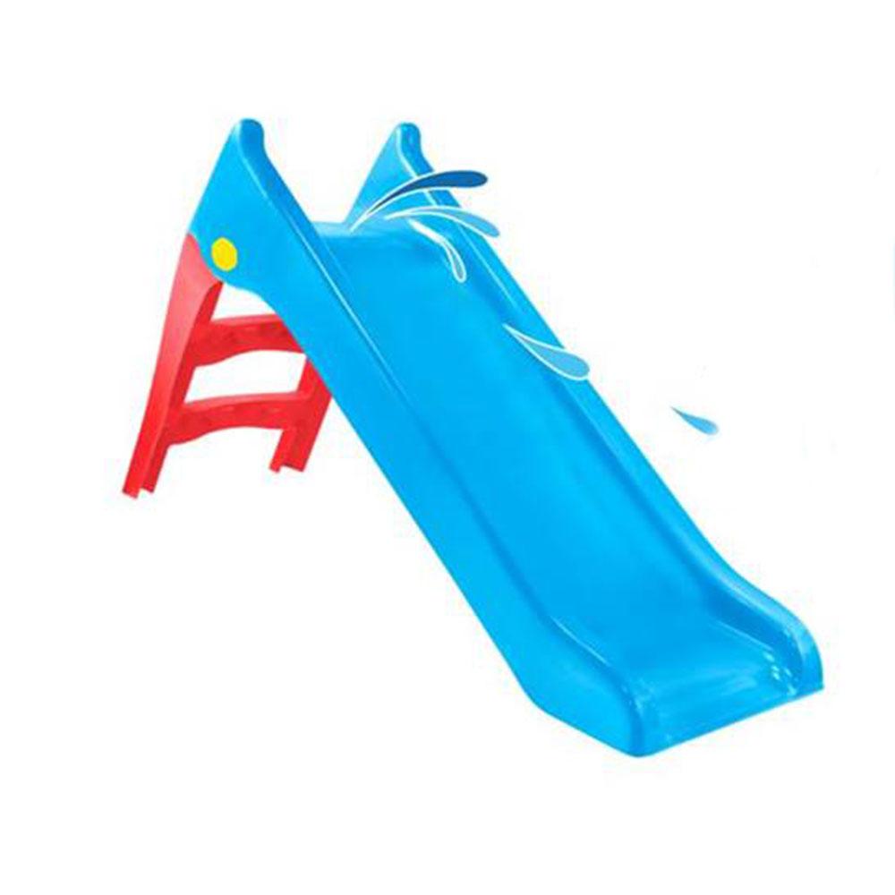 Tobogan pentru copii Mochtoys Slide 140 cm BlueGreen