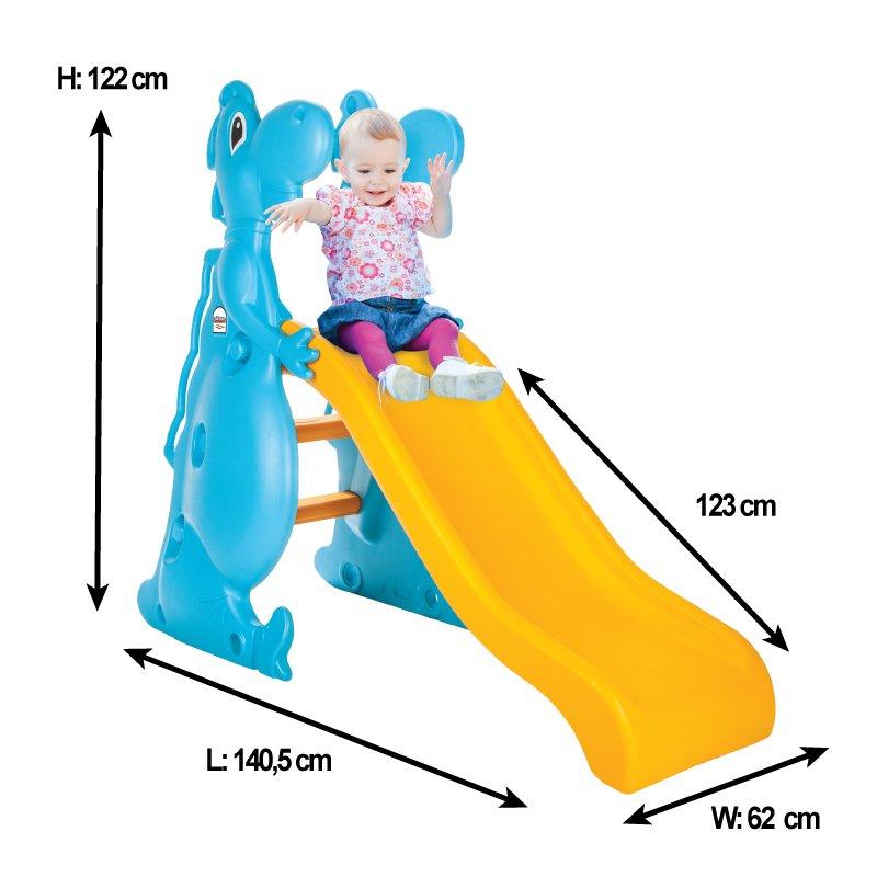 Tobogan pentru copii Pilsan Dino Slide Blue imagine