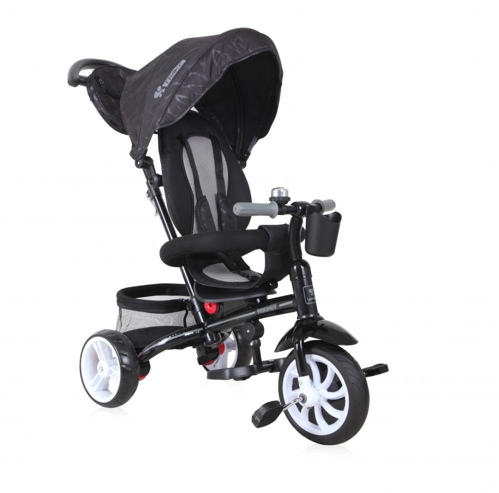 Tricicleta Rocket Black