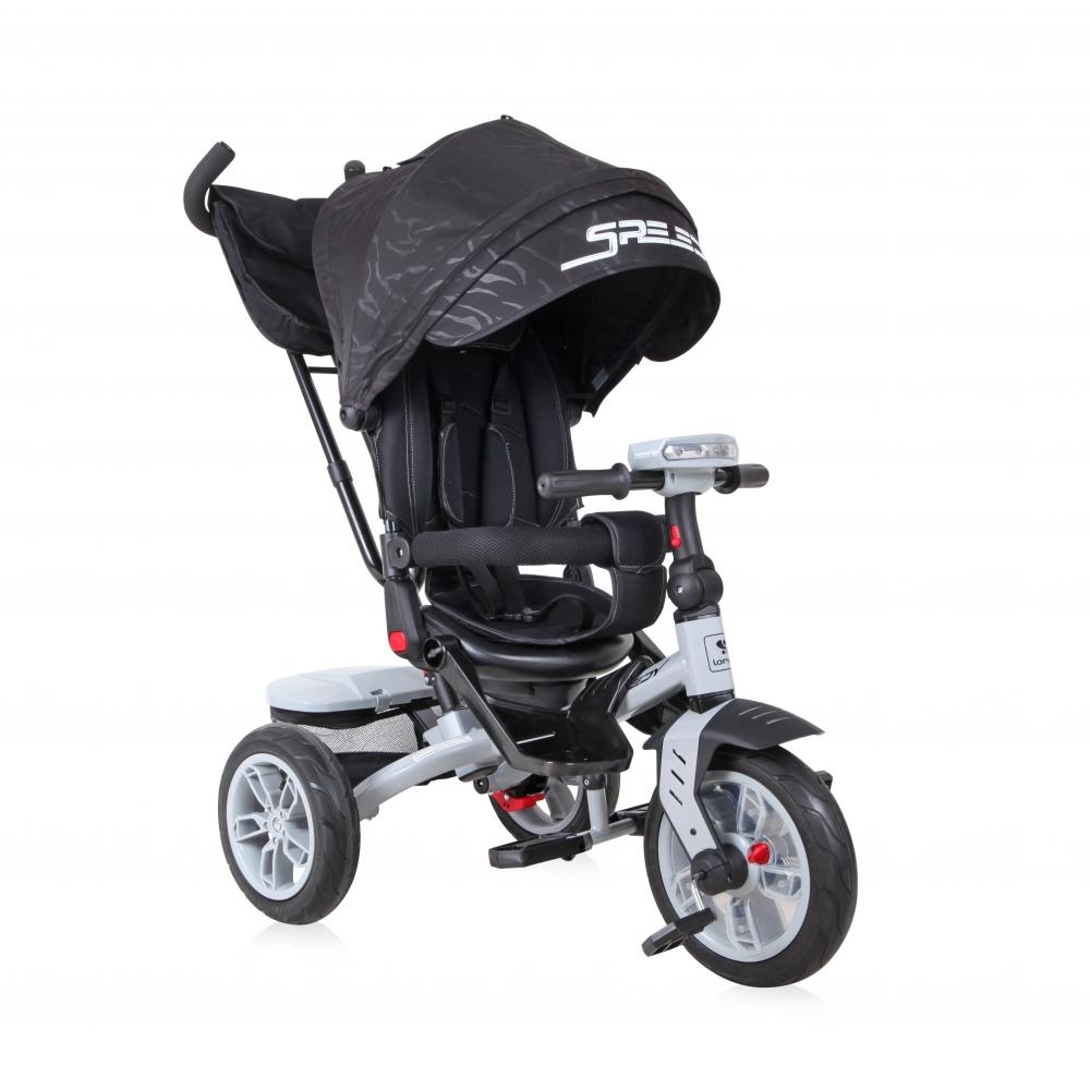 Tricicleta multifunctionala 4 in 1 Speedy Black imagine