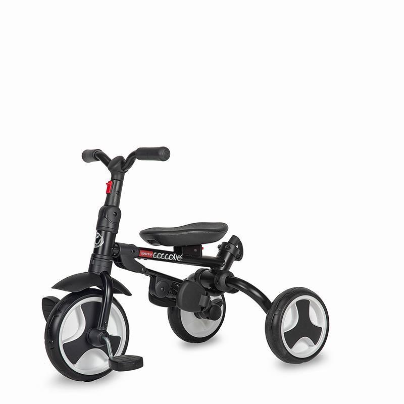 Tricicleta ultrapliabila Coccolle Spectra roti EVA Sunflower Joy imagine