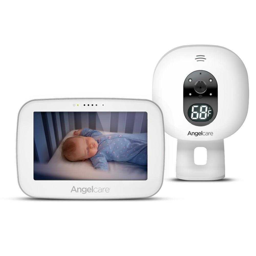 Videofon si monitor de miscare cu placa de detectie wireless Angelcare AC527 SensAsure imagine