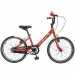 Bicicleta Carpat C2002C 20 V-Brake cu cosulet 7-10 ani rosu/negru
