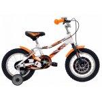 Bicicleta copii Dhs 1403 alb aprins 14 inch
