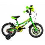 Bicicleta copii Dhs 1403 verde 14 inch