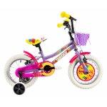 Bicicleta copii Dhs 1404 violet 14 inch