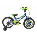 Bicicleta copii Dhs 1601 albastru 16 inch