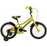 Bicicleta copii Dhs 1601 galben inchis 16 inch