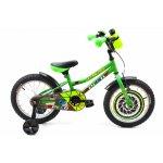 Bicicleta copii Dhs 1601 verde 16 inch