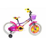 Bicicleta copii Dhs 1602 violet 16 inch