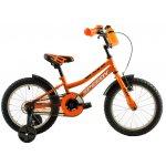 Bicicleta copii Dhs 1603 portocaliu aprins 16 inch